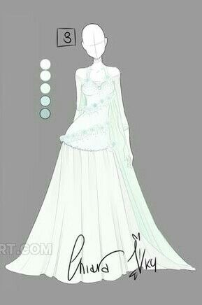 Christine Wedding With Images Anime Outfits Art Dress