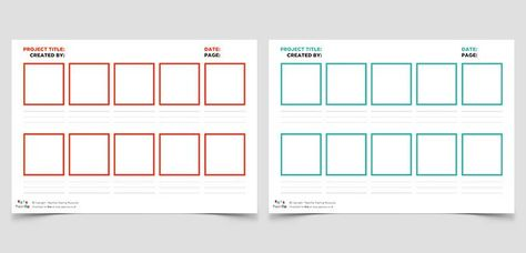 Blank Storyboard Templates  Teach    Storyboard Short