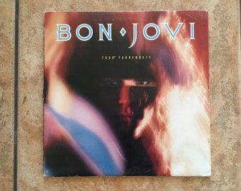 Bon Jovi 7800 Fahrenheit Vinyl Record American Rock Album 1985 Jon Bon Jovi Bon Jovi True Love