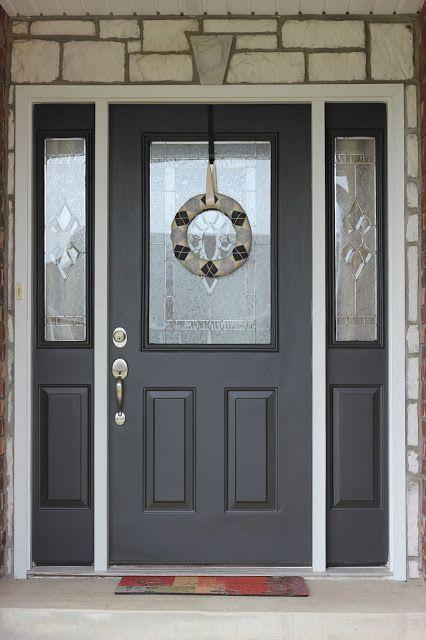 Nice Painting Your Front Door DIY Tutorial   A + Life Blog   Pinterest   DIY  Tutorial, Front Doors And Doors