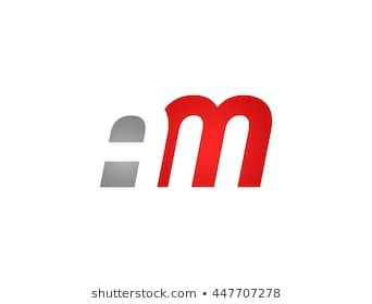 Abstract Letter Am Lovely Logo Design Template Logo Images