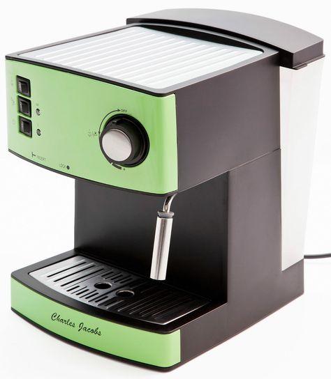 Charles Jacobs 15 Bar Pump COFFEE MAKER Cappuccino Espresso