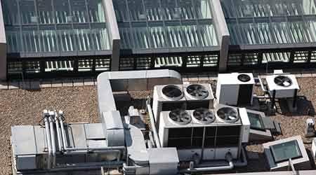 Understanding Displacement Ventilation Underfloor Air Distribution As Alternati Commercial Air Conditioning Air Conditioning Equipment Air Conditioning Repair