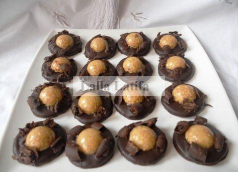 Sable Pretige Au Nougat Avec Images Cuisine Marocaine