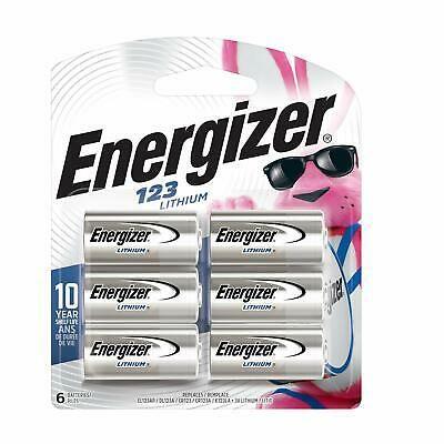 Ad Ebay Link Energizer 123 Lithium Batteries 3v Cr123a Lithium Photo Batteries 6 Battery C Energizer Battery Energizer Lithium Battery