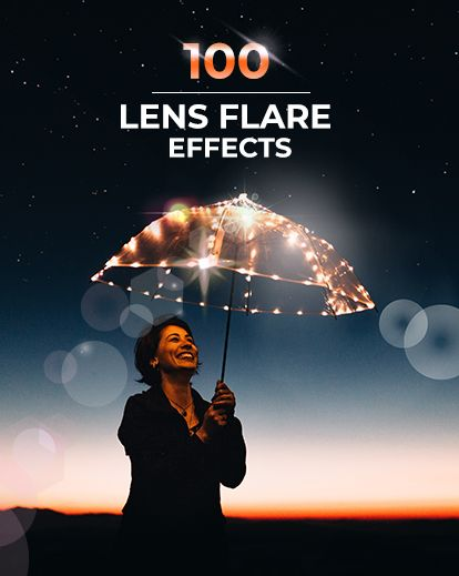 Add flare to photo