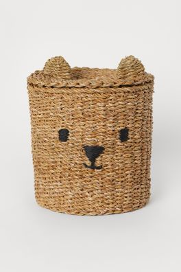 Jacquard Weave Towel In 2020 Storage Baskets With Lids Storage Baskets Basket