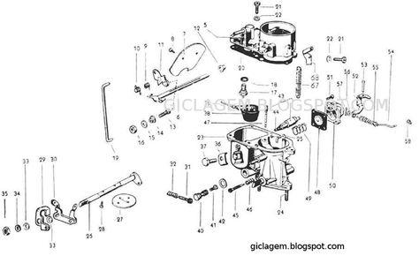 Carburador PIC 30 Solex - VW 1300 | VW Bugs | Cars, Cars