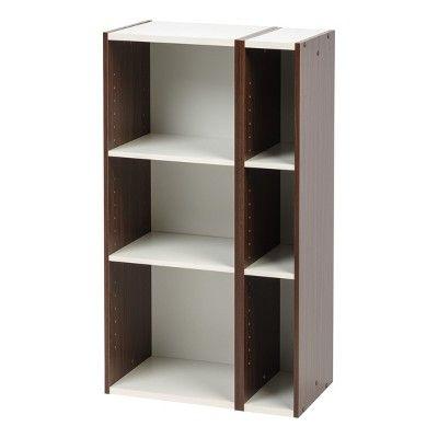 Merveilleux Utility Storage Shelves Iris, Brown