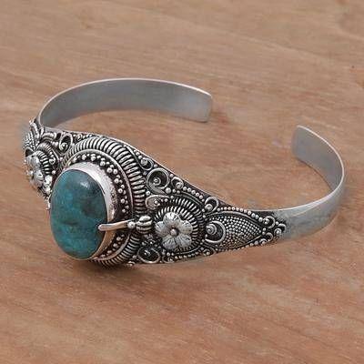 Balinese Natural Turquoise Bracelet