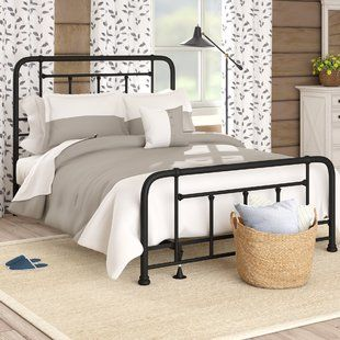 Beds Joss Main Panel Bed Furniture Bed Sizes