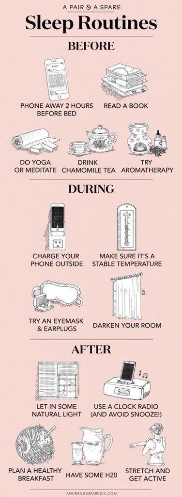 Rituel simple pour un sommeil réparateur