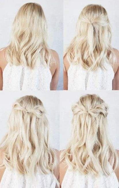 Best Hairstyles Bridesmaid Long Hair Simple Up Dos 62 Ideas Easyhairstyles Bridesmaid Hair Long Diy Bridesmaid Hair Hair Styles