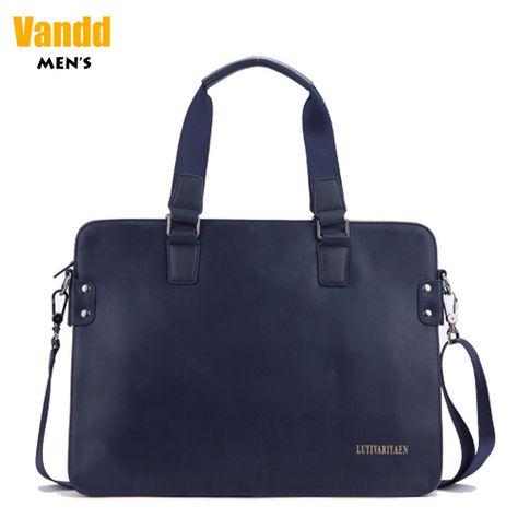 Aliexpress.com : Buy Vandd Men's Blue Genuine Leather Casual Tote Handbag Crossbody Shoulder Messenger Bag Business Briefcase from Reliable leather shoulderbags suppliers on Vandd Men. $52.00