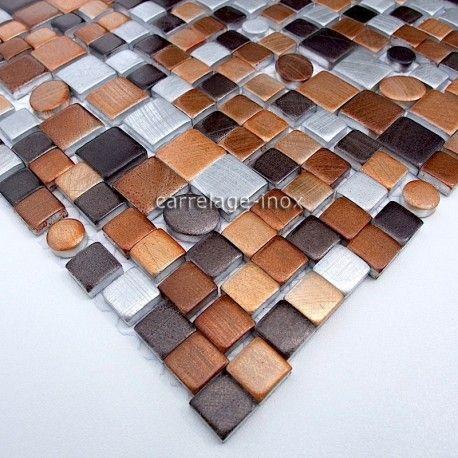 Epingle Par Carrelagesmosaiques Sur Mosaique Aluminium Mosaique