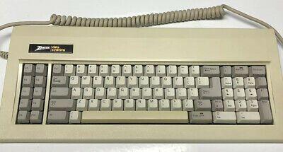 Vintage Zenith Data System Keyboard Mechanical Green Sliders Must See K1 Ebay Zenith System Sliders
