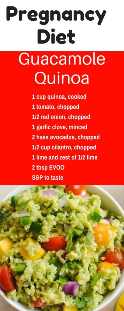 Guacamole quinoa recette rgime palo rgime et palo a superfood for your pregnancy diet pregnancy diet quinoa recipe forumfinder Images