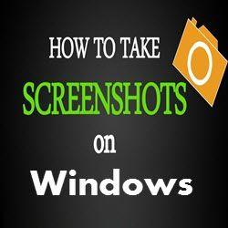 How To Take Screenshots On Windows Computing