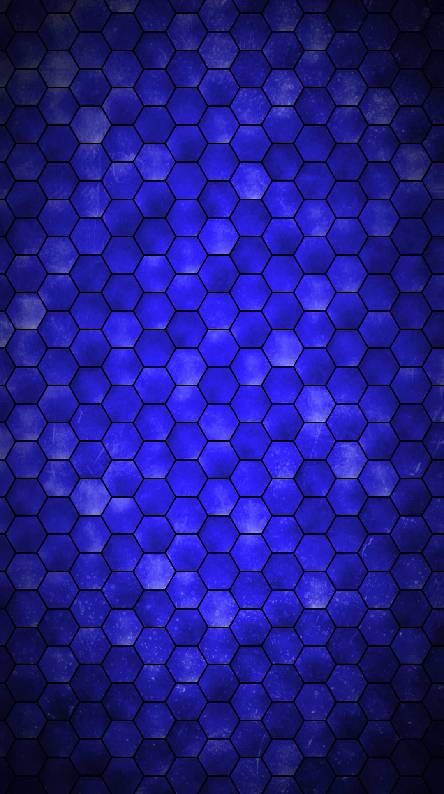 Hexagons Pattern Wallpapers Blue Background Wallpapers Blue Art Blue and black hexagon wallpaper