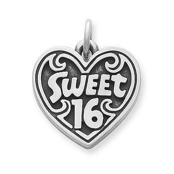 Sweet 16 Sterling Silver charm bracelet