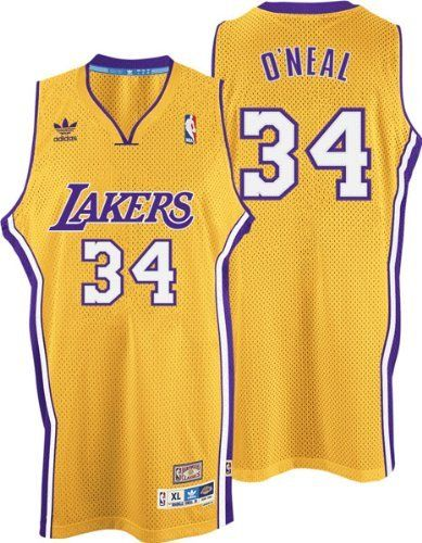 Los Angeles Lakers Shaquille O'Neal Adidas Soul Swingman Jersey (L ...