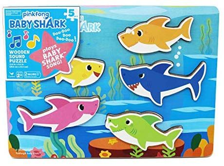 Pinkfong Baby Shark Pop Up Game Classic Family Fun Great Gift!
