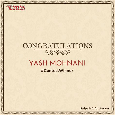 Your love is our achievement! ❤️ Congratulations @YashMohnani1 for winning our Special Paneer Ghewar contest.  Thank you all for participating😊. . .  #lmb #winner #contest #giveaway #gift #happy #love #mithai #foodgasm #customer #foodaholic #picoftheday #congratulations #sweet #dessert #yummy #foodlover #treats #delicious #sweettooth #photooftheday #instafood #foodism #spreadingsmiles #food4thought #foodtalkindia #indianmithai #laxmimishtanbhandar #amazing