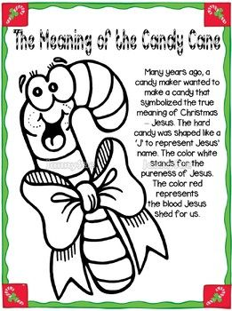 The Legend Of The Candy Cane Craft Candy Cane Legend Candy Cane