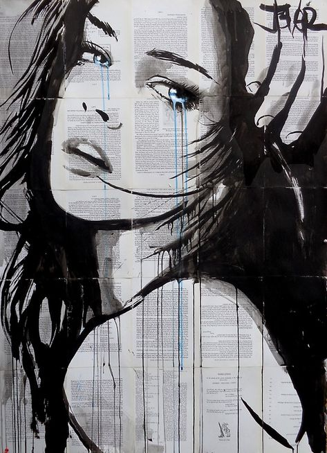 """blue interlude"" Stickers by Loui Jover 