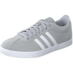 adidas Courtset Sneaker Damen grau adidas in 2020 | Leder ...