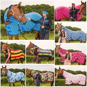 Combo Horse Pony Show Fleece Rug
