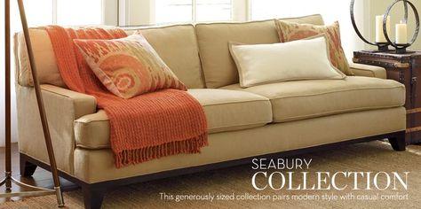 Pottery Barn Seabury Sofa Furniture