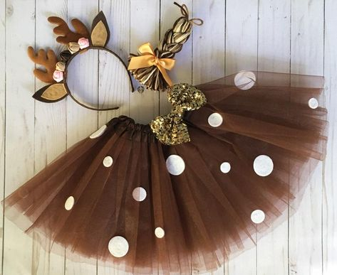 Cute Halloween Costumes, Girl Costumes, Halloween Crafts, Deer Costume Diy, Scarecrow Costume, Gifts For Girls, Kids Gifts, Deer Antlers Headband, Real Tree Camouflage