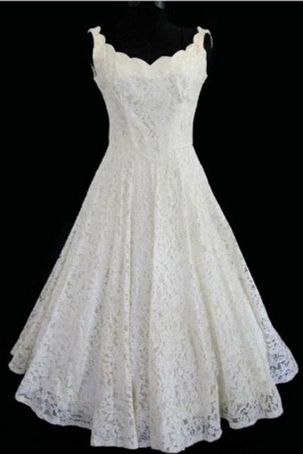 Simple Straps Jewel Knee Length Lace Beach Wedding Dresses For