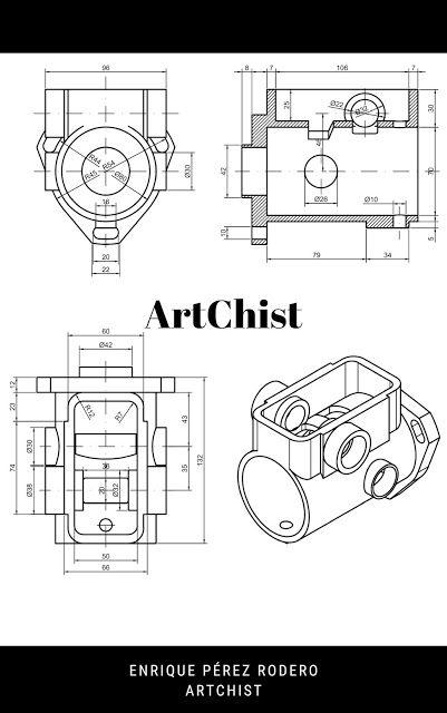 Ejercicios De Autocad 2d Y 3d Conceptos Basicos Linea Circunferencia Recorte Simetr Ejercicios De Dibujo Dibujo Tecnico Ejercicios Tecnicas De Dibujo