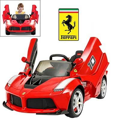Top 10 Best Electric Cars For Kids In 2020 Reviews Best10selling Car Ferrari Electric Cars