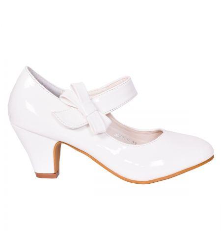Buty Komunijne Dla Dziewczynki Z Obcasem Poleca Sklep Z Butami Komunijnymi Www Styloweobcasy Pl Shoes Fashion Flats