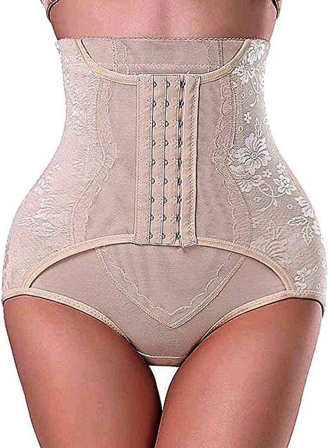 e0407511f13e7 Gotoly Invisable Strapless Body Shaper High Waist Tummy Control Butt Lifter  Panty Slim(L