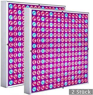 2 Stuck Led Pflanzenlampe 15w Pflanzenleuchte Fur Gewachshaus 225 Leds Red Blue Voll Spektrum Pflanzenlicht Fur Pflanzenlampe Led Pflanzenlampe Pflanzenleuchte