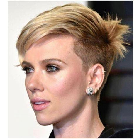 Scarlett Johansson Fryzury Fryzury Włosy I Moda