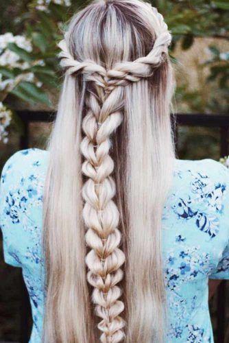 #braid #crown #einfaches #tutorial #twisted Einfaches Twisted Crown Braid Tutorial