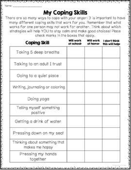 10+ Free anger management worksheets For Free