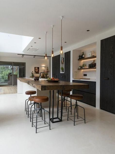 21 Modern Cooking Area Concepts Every Residence Prepare Demands to See  #kitchencabinets#kitchentable#kitchendecor#kitchenpendantlighting#kitchenshelves