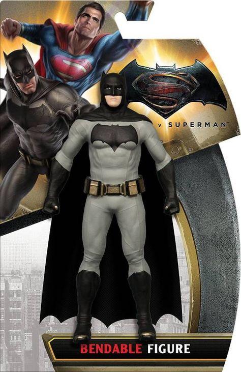 NJ Croce Batman Vs Superman: Batman Bendable Action Figure