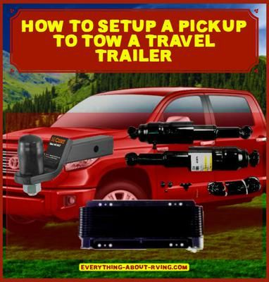 what do i need for my travel trailer