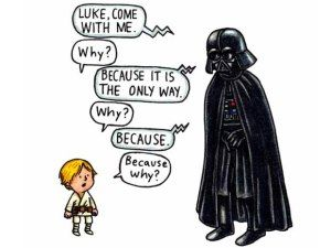 Star Wars Darth Vader **Personalized Birthday Card** Fantasy SiFi Space Son Dad