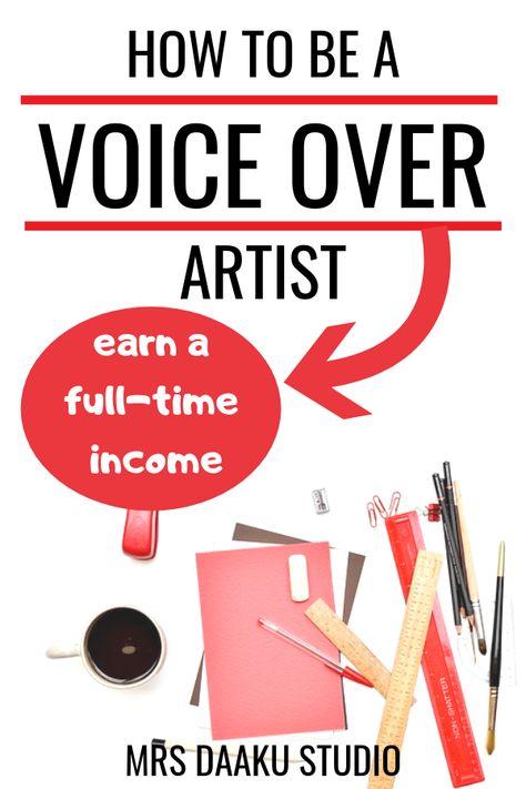 Voice over jobs from home interview #3 - Meet Julie - A voice artist