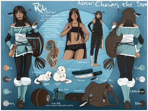 AtLA - Rilu Reference Sheet by Ai-Bee.deviantart.com on @DeviantArt