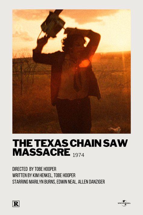 The Texas Chain Saw Massacre Polaroid Movie Posters