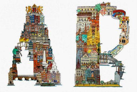 688bf058526c1b952c7c63b4b546fc51  famous monuments illustrators